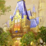 D23 Expo First Look:  Disney Reveals Detailed Concept Art for Shanghai Disneyland Storybook Castle