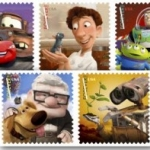 Pixar Postage Stamps Now Available