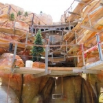 Behind-the-Scenes Look at 'Cars Land' Construction