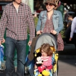 Star Sighting: Alyson Hannigan and Daughter Celebrate their Birthday at Disneyland
