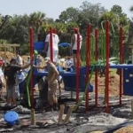 Disney VoluntEARS & Others Construct Playground for Local Florida Kids