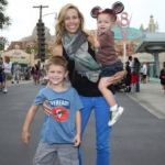 Star Sighting: Sheryl Crow Visits Cars Land with Sons