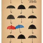 Pixar Releases Poster for New Short 'The Blue Umbrella'