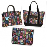 Dooney & Bourke Mickey Rainbow Letter Collection Debuts at Tren-D This Month