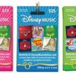 Disney Music Group Launches Gift Cards for Digital Music Store