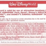 New Disability Access Service Card Program Launching October 9 at Disney Parks
