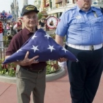 This Week's Limited Time Magic Salutes Veterans with a Special Flag Retreat Ceremony at the Magic Kingdom