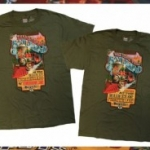 Disney Attraction Poster T-shirt Series Kicks Off with Tributes to Disney Railroads