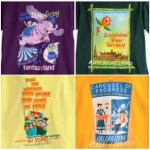 Poster-Inspired Disney Attraction T-Shirts Arriving at Disney Parks Online Store