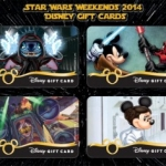 Disney Releases New Themed Gift Cards for 2014 Star Wars Weekends