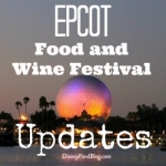 Details Announced for Epcot Food and Wine Festival Culinary Demos and Seminars