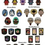 New Hidden Mickey Pins Arriving at the Disney Parks this Month