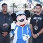 Oregon and Florida State Players Visit Disneyland Resort Ahead of Rose Bowl