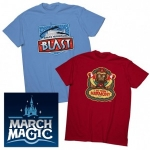 Disney Parks Online Store Featuring 32 Team Shirts from the March Magic Tournament