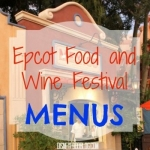 Full Menus Released for 2015 Epcot Food and Wine Festival