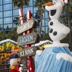 Celebrate the Holidays at Disneyland in the Downtown Disney District