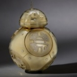 Gold BB-8 Created for Force For Change Auction