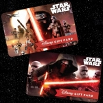 New 'Star Wars'-Themed Disney Gift Cards Available