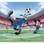 New Hand-Painted Goofy Ink & Paint Cel Debuts at Walt Disney World Resort
