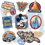 Disney Releases Sneak Preview of Magic Kingdom's 45th Anniversary Logo
