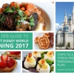 Disney Food Blog Announces Launch of 'The DFB Guide to Walt Disney World Dining 2017' E-book