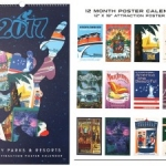 The Disney Parks and Resorts Deluxe Attraction Poster Calendar Coming Soon