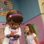 Doc McStuffins Meeting Guests at Disney's Animal Kingdom