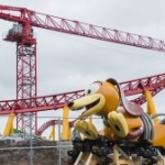Ride Vehicle for Slinky Dog Dash Arrives at Disney's Hollywood Studios