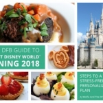 Grand Launch of the DFB Guide to Walt Disney World Dining 2018 E-book