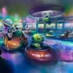 Disney Gives Preview of New Alien Swirling Saucers from Toy Story Land