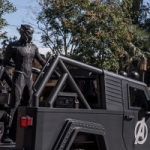Black Panther Appearing at Disney California Adventure