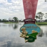 Disney Gives Preview of Finisher Medals for the Wine and Dine Half Marathon Weekend Races